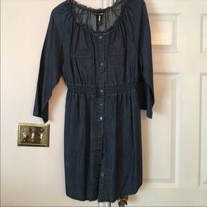 Lane Bryant denim dress - size 16